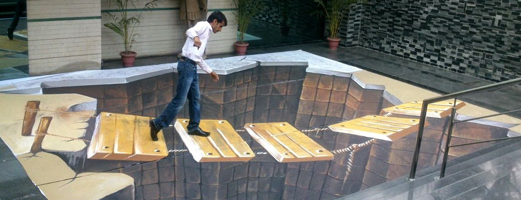 اجرای کفپوش سه بعدی و سقف کشسان مازندران شمال بهشهر